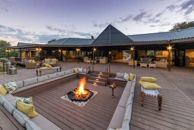 Main Lodge area at Old Drift, Victoria Falls